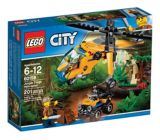 LEGO City, L'hélicoptère cargo de la jungle, paq.201 | Legonull