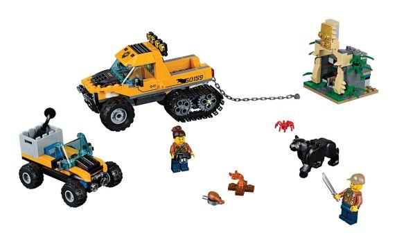 LEGO City Jungle Halftrack Mission, 378-pc Product image