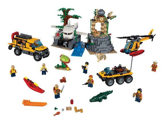 LEGO City, Le site d'exploration de la jungle, paq. 813