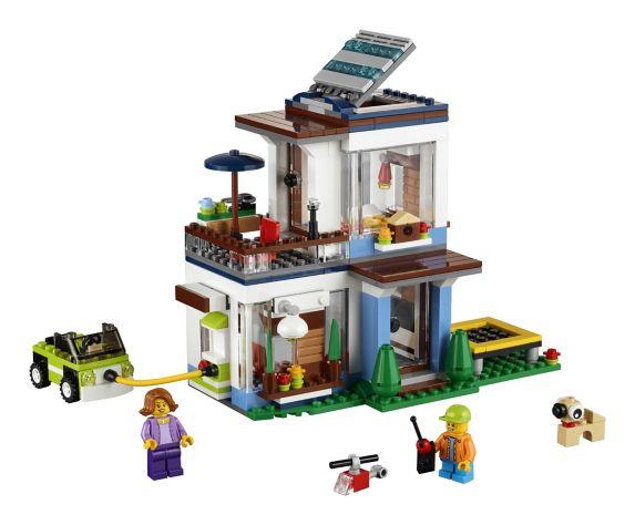 LEGO Creator, La maison moderne modulaire, paq.386 Image de l'article