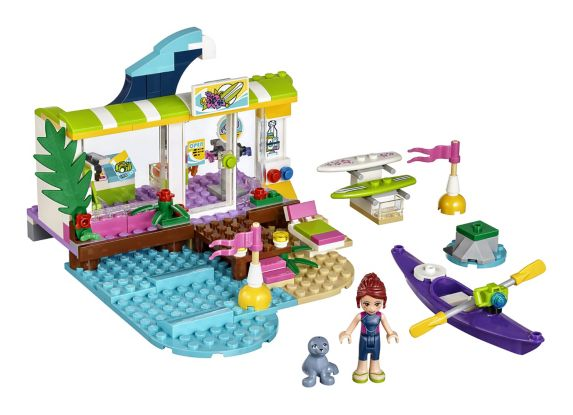 LEGO Friends, La boutique de surf de Heartlake, paq. 186