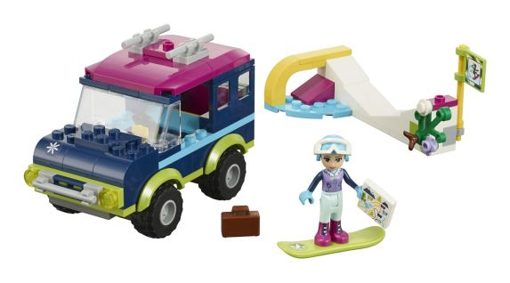 LEGO Friends Snow Resort Off-Roader, 141-pc Product image