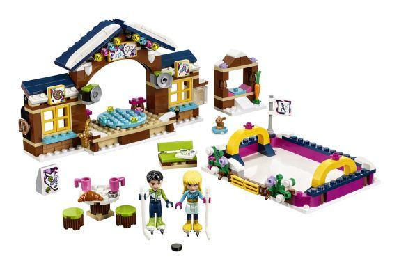 LEGO Friends, La patinoire de la station de ski, paq.307