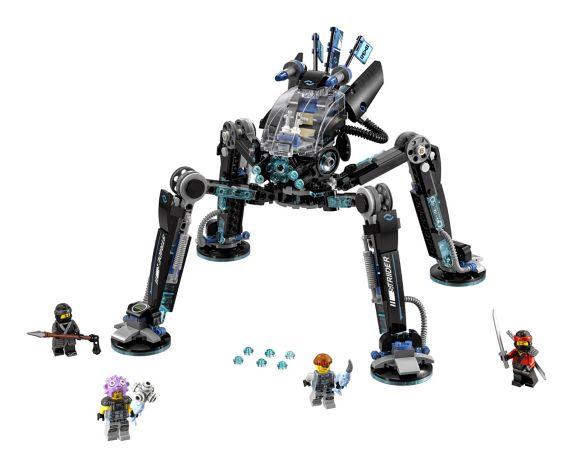 LEGO Ninjago, Le robot-araignée d'eau, paq.494
