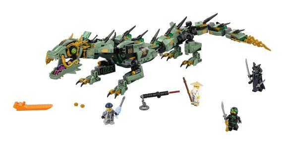 LEGO Ninjago Green Ninja Mech Dragon, 544-pc Product image
