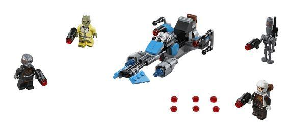 LEGO Star Wars Bounty Hunter Speeder Bike Battle Pack, 125-pc Product image