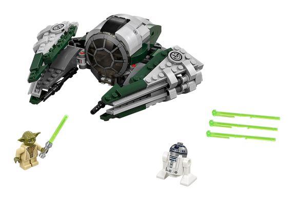 LEGO Star Wars, Vaisseau spatial Jedi d'Yoda, paq.262 Image de l'article