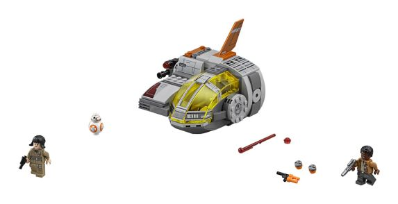 LEGO Star Wars Resistance Transport Pod, 294-pc