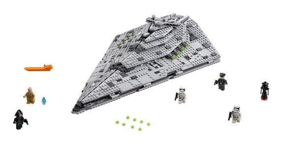 LEGO Star Wars, Star Destroyer du Premier Ordre, paq.1416 Image de l'article