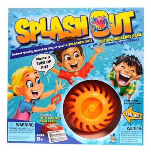 Splash Out Action Challenge Game Product image