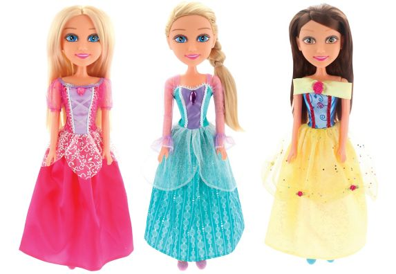Sparkle Girlz Princess Doll, Assorted, 18-in Product image