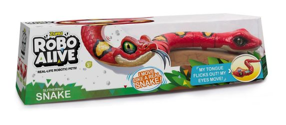 Robo Alive Lurking Lizard & Slithering Snake Battery-Powered Robotic Toy by ZURU, Assorted Product image
