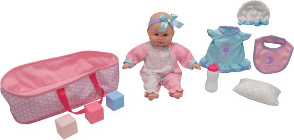 New Born Baby Doll Set, Assorted, 14-in Product image