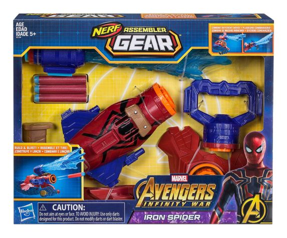 Avengers Assembler Gear Spiderman, 10-in