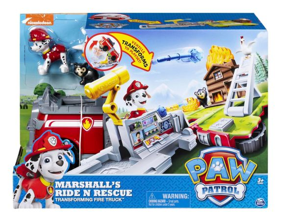 PAW Patrol, Chase's Ride 'n' Rescue, Transforming 2-in-1 Playset & Police Cruiser, Assorted Product image