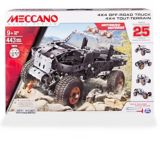 Meccano Erector 4x4 Off-Road Truck 25 Model Building Kit |
