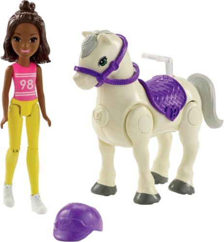 Barbie on the Go Pony, Assorted, 4-in
