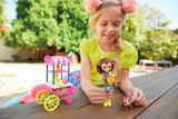 Enchantimals Merit Monkey Doll with Fruit Cart
