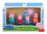 Peppa Pig Friends & Family Set, Assorted, 3-in, 4-pk | Peppa Pignull
