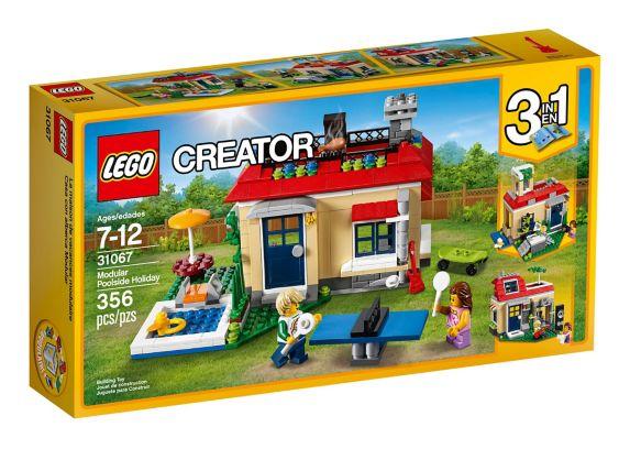 LEGO Creator Modular Poolside Holiday, 356-pc Product image