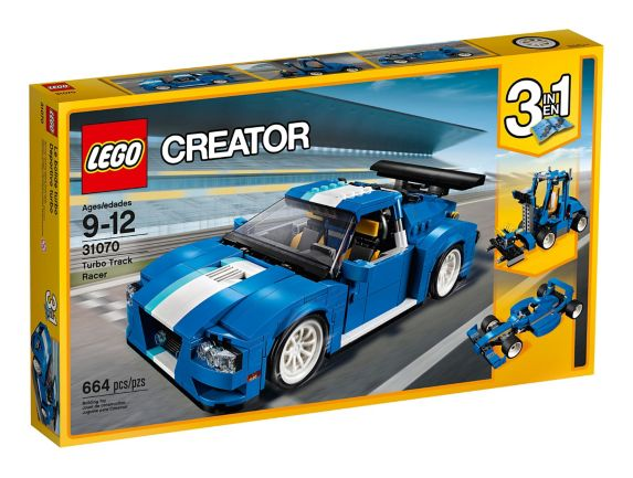 LEGO Creator Turbo Track Racer, 664-pc