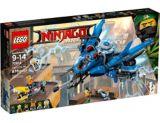 L'avion éclair du film LEGO Ninjago, 876 pces | Legonull