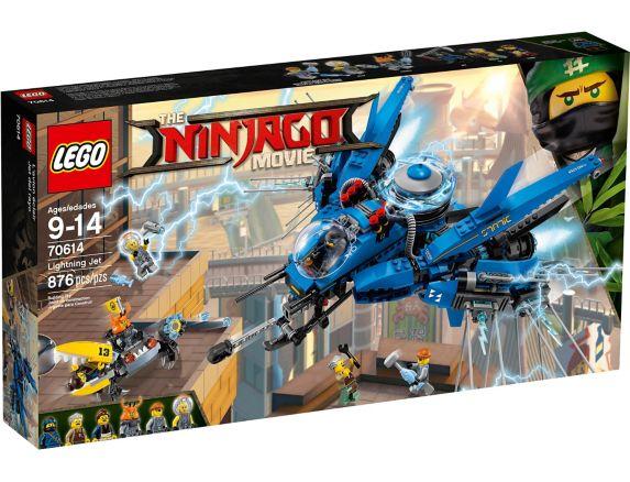 L'avion éclair du film LEGO Ninjago, 876 pces Image de l'article