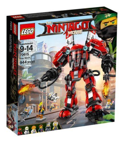 Le robot de feu du film LEGO Ninjago, 944 pces Image de l'article