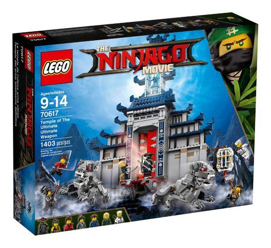 Le temple de l'ultime arme ultime du film LEGO Ninjago, 1403 pces Image de l'article