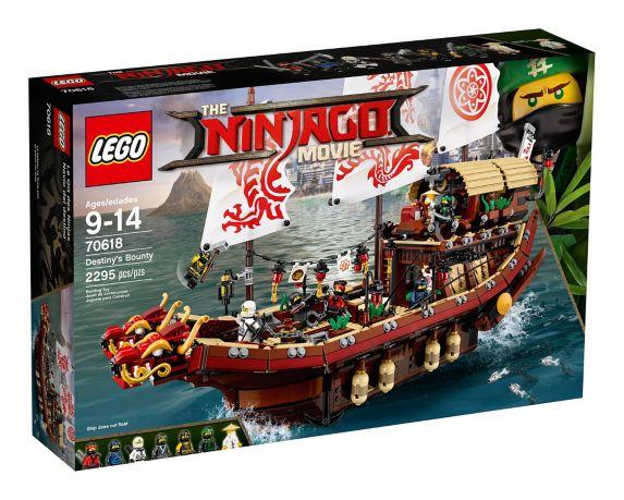 Le QG des Ninjas du film LEGO Ninjago, 2295 pces