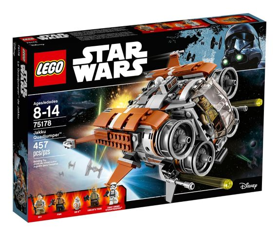 LEGO Star Wars Jakku Quadjumper™, 457-pc Product image