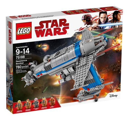 LEGO Star Wars Resistance Bomber, 780-pc Product image