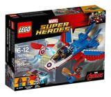 La poursuite en avion de Capitaine America LEGO Marvel Super Heros, 160 pces | Legonull
