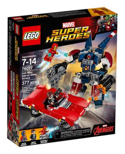 LEGO Marvel Super Heroes Iron Man: Detroit Steel Strikes, 377-pc Product image