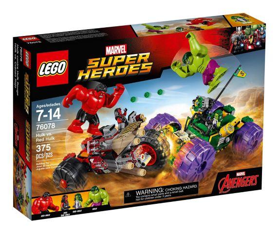LEGO Marvel Super Heroes Hulk vs. Red Hulk, 375-pc Product image