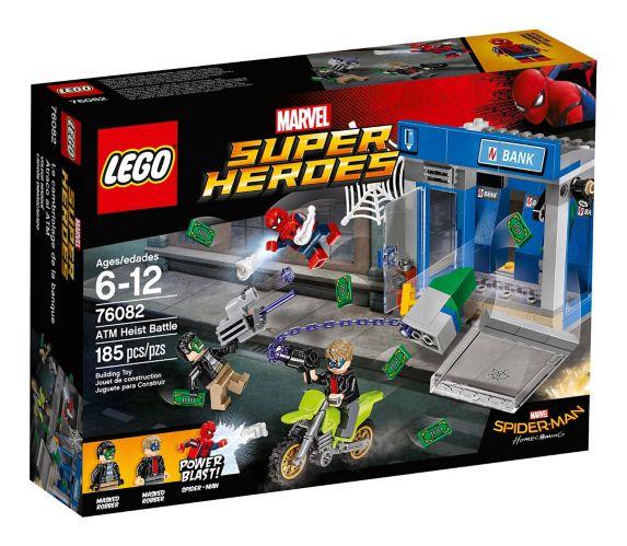 LEGO Marvel Super Heroes ATM Heist Battle, 185-pc