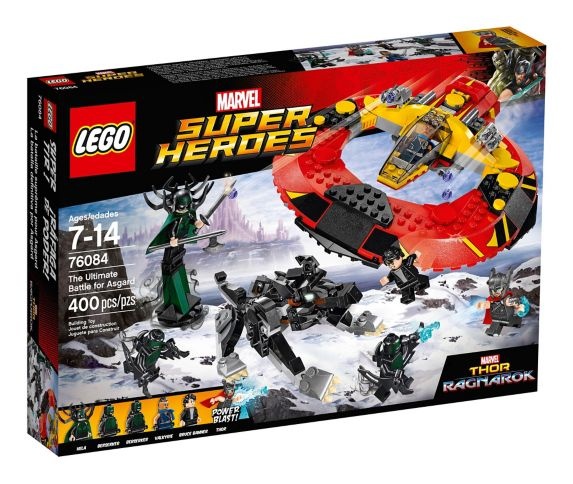 La bataille suprême pour Asgard LEGO Marvel Super Heroes, 400 pces Image de l'article