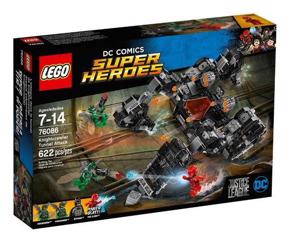 LEGO DC Comics Super Heroes Knightcrawler Tunnel Attack, 622-pc Product image