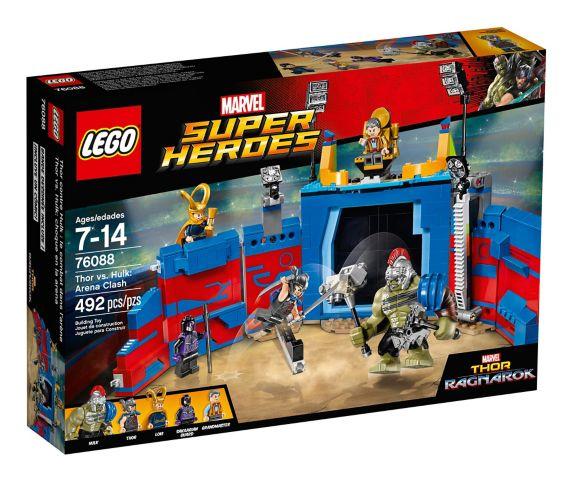 LEGO Marvel Super Heroes Thor vs. Hulk: Arena Clash, 492-pc