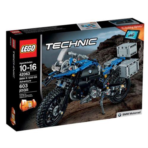 BMW R 1200GS Adventure LEGO Technic, 603 pces