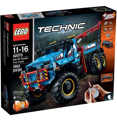 LEGO Technic 6 x 6 All Terrain Tow Truck, 1862-pc Product image