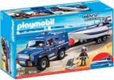 PLAYMOBIL Police Truck with Speedboat | PLAYMOBILnull