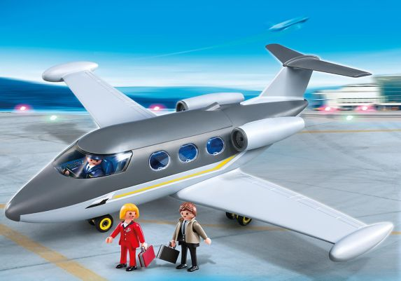 PLAYMOBIL Private Jet City Life Product image