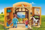Coffret de jeu d'écurie avec poney Playmobil | PLAYMOBILnull