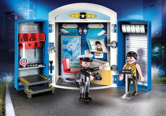 Coffret de poste de police Playmobil Image de l'article
