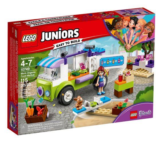 Le marché d'alimentation biologique de Mia LEGO Juniors, 115 pces
