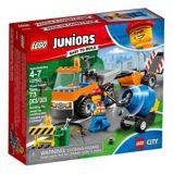 Le camion de réparation des routes LEGO Juniors, 73 pces | Legonull