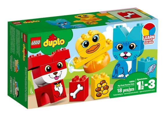 LEGO Duplo My First Puzzle Pets, 18-pc Product image