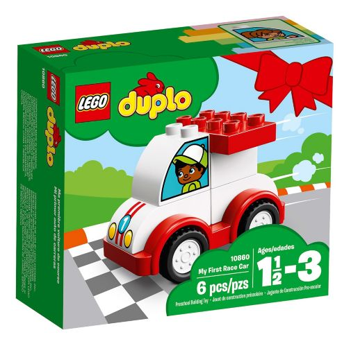LEGO Duplo My First Race Car, 6-pc