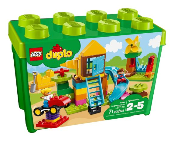 LEGO Duplo Large Playground Brick Box, 71-pc